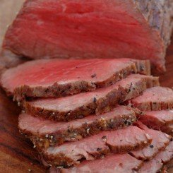 Pepper Crusted Roast Beef Tenderloin