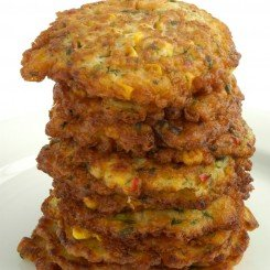 Corn and Coriander Fritters