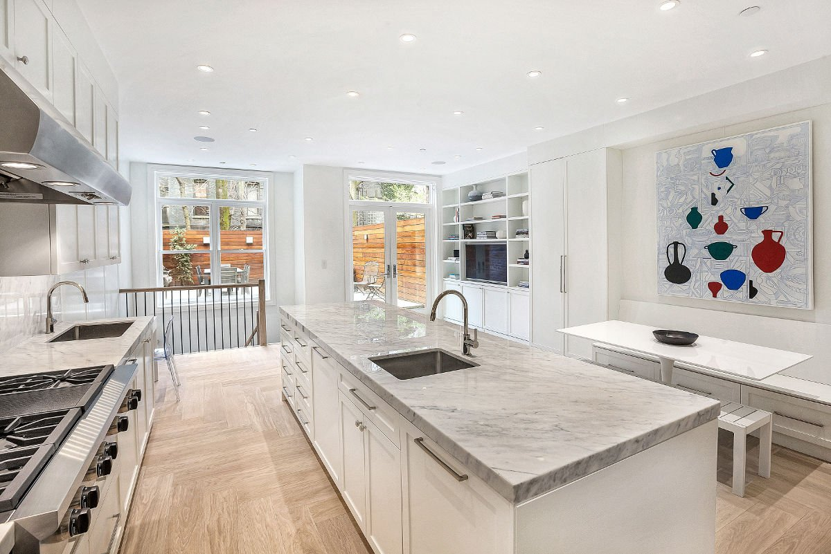 310 West 88th Street - Amazing White Kitchen