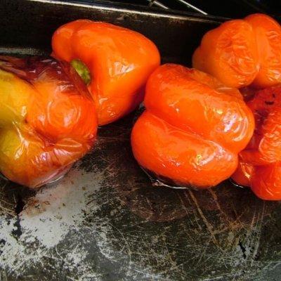 grilled capsicum