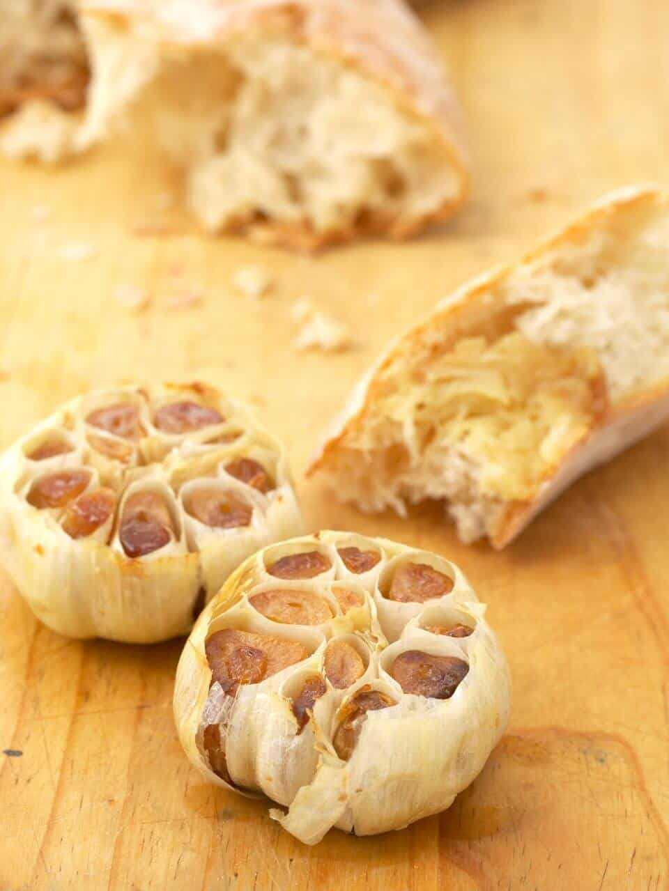 ROASTED GARLIC RECIPE – HOW TO ROAST GARLIC (WITH VIDEO INSTRUCTIONS)