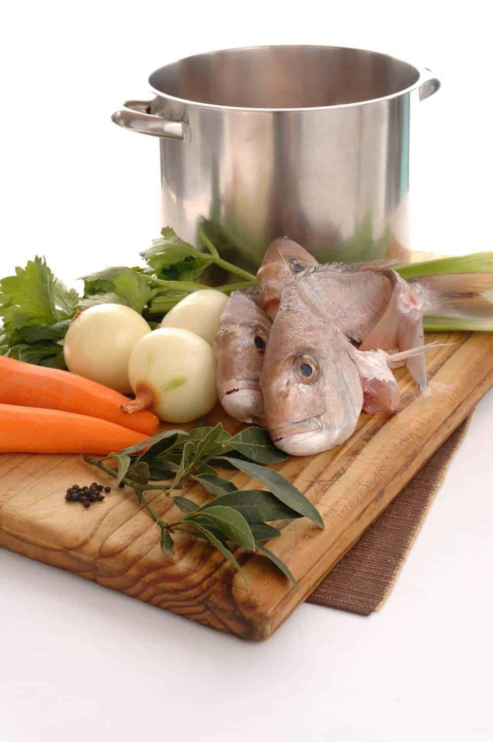 Fish stock chefs pencil for Fish stock recipe