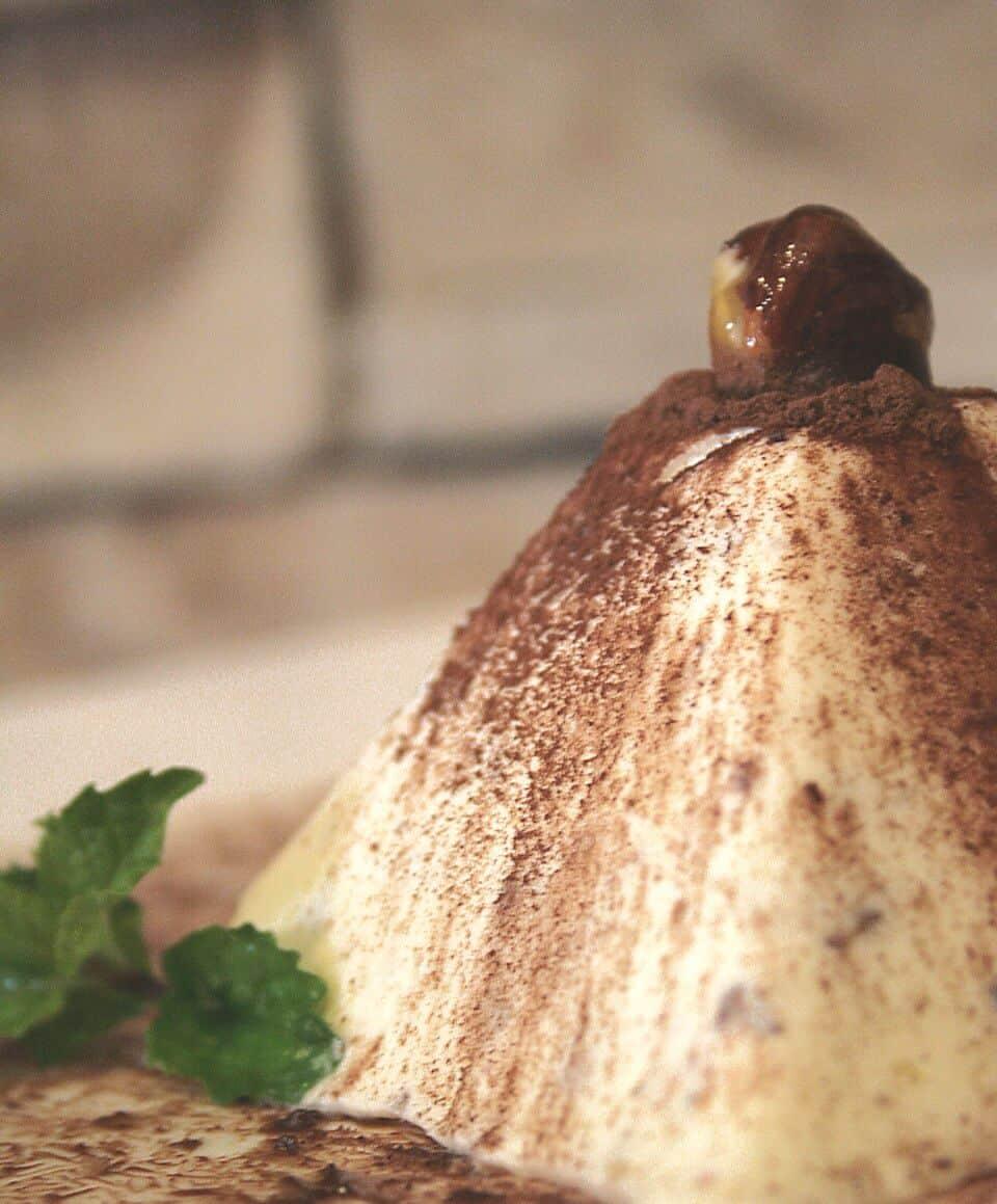 Iced Hazelnut Parfait (Souffle)