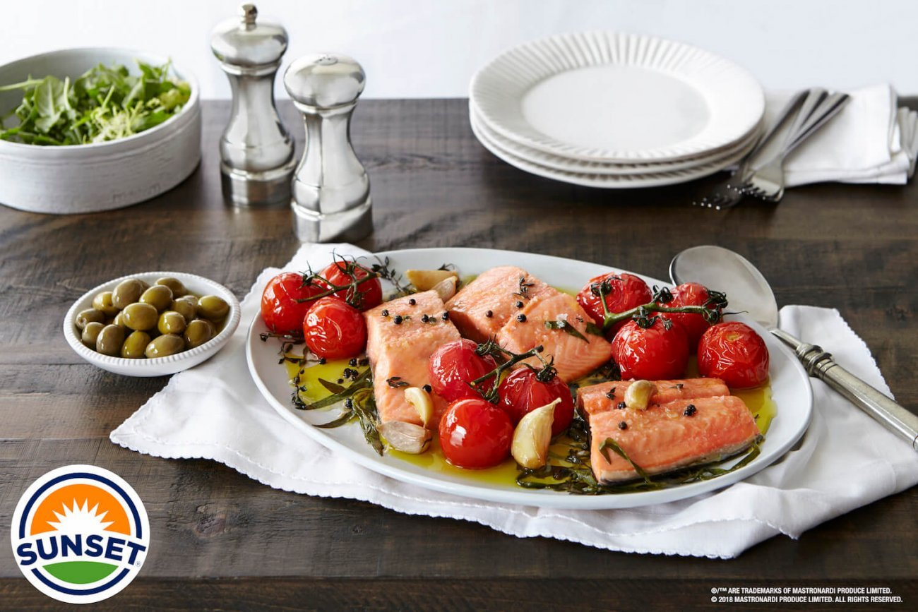CONFIT CAMPARI® AND SALMON BY CHEF ROGER MOOKING