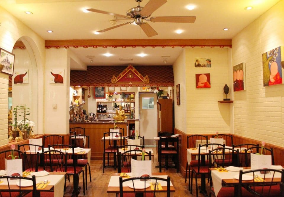 Inside of  Kanok Thai