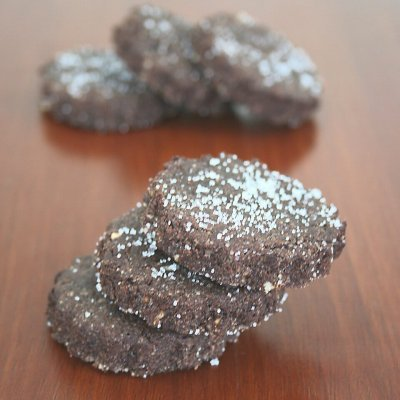 Brunsli - Swiss chocolate cookies
