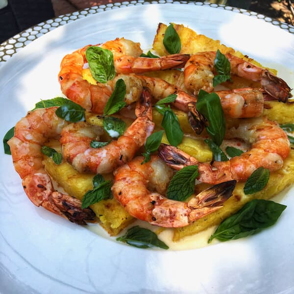CHILI PINEAPPLE AND SHRIMP MIXED GRILL