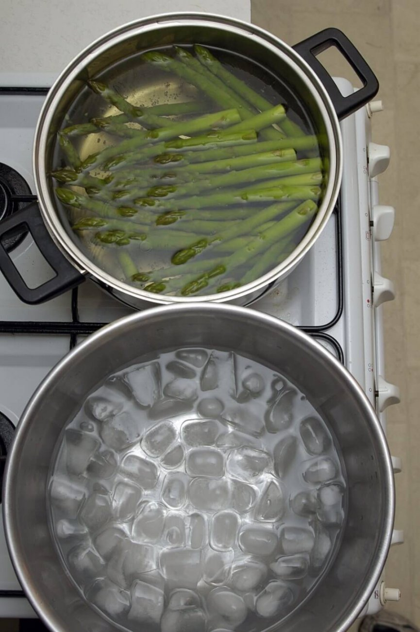 What is Blanching?