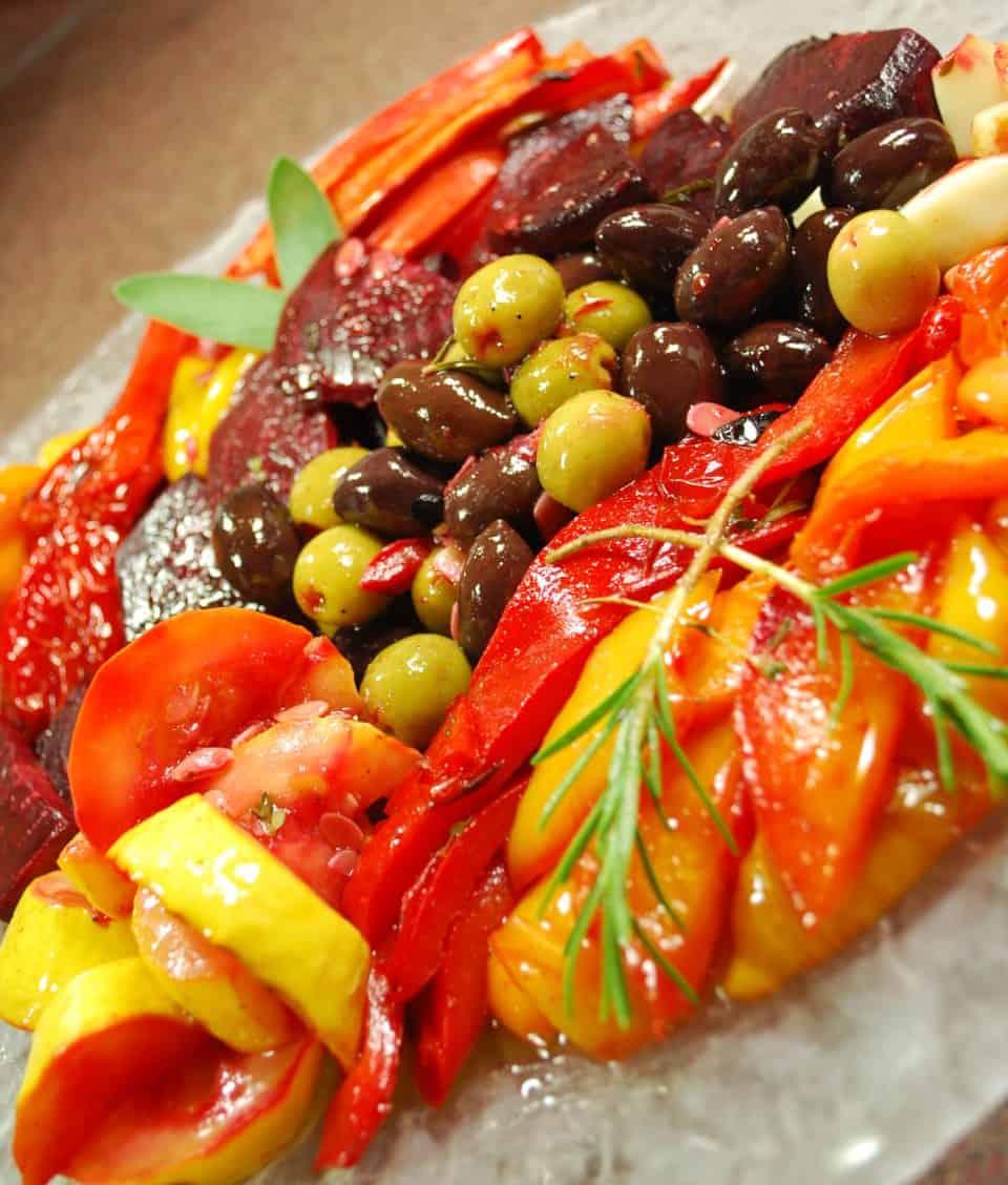 Grilled Vegetable Escabeche