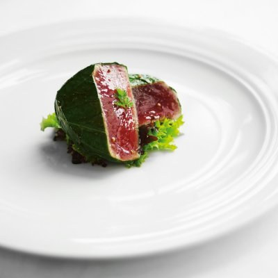 Basil Infused Tuna - Steamed Tuna