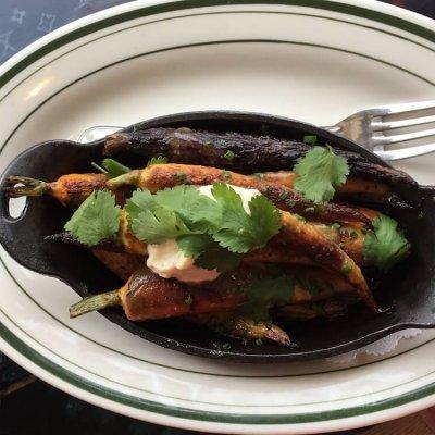 Roasted Carrots & Tofu Puree