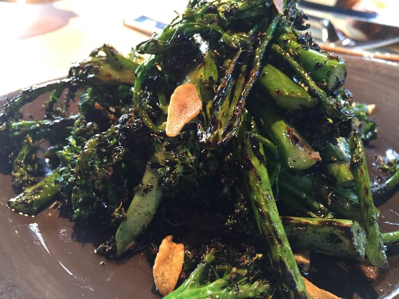 WOOD GRILLED BROCCOLI DI CICCIO