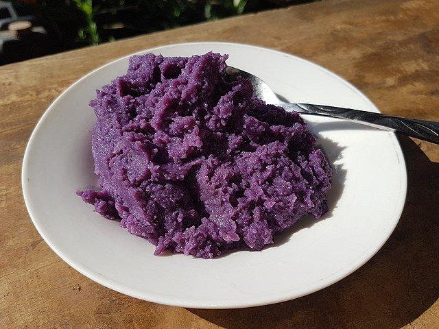 Ube Halaya dessert