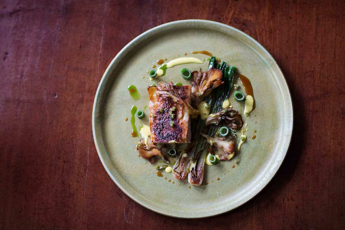 CHICKEN – HEN OF THE WOODS – ONION