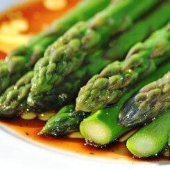 Truffle Marinated Asparagus