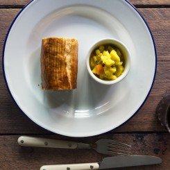 Glazed Pork Ribs with Scallions & Togarashi - Chefs Pencil