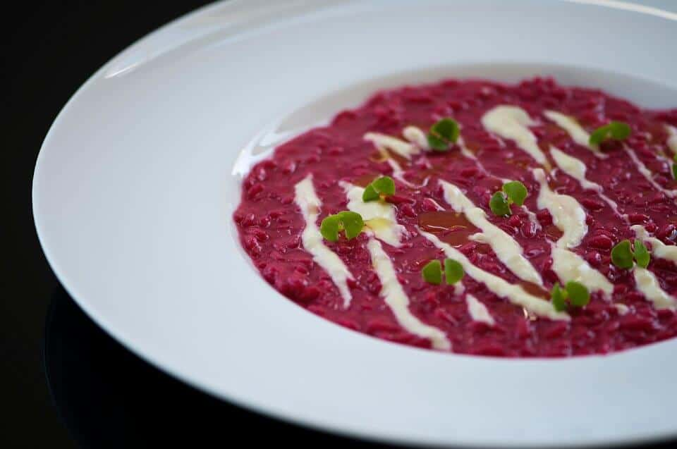 Beetroot-Risotto