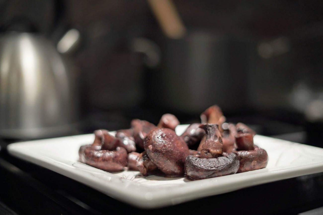 Cabernet Sauvignon Portobello Mushrooms Recipe