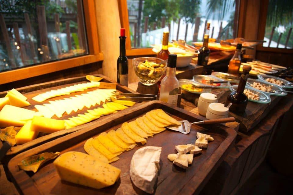 Cheese Table at Soneva Kiri