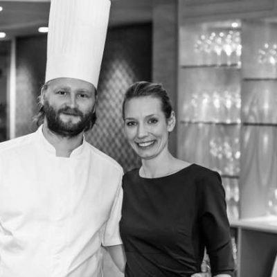 Chef Ulrik Jepsen and His Wife Mia