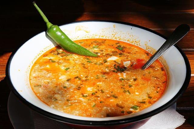 Romanian soup: Ciorba