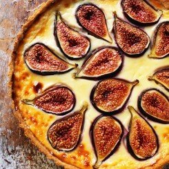 Dalmatian Fresh Fig Tart
