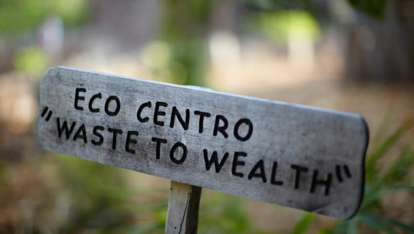 Eco Centro opens at Soneva Fushi, the Maldives' first integrated waste management centre