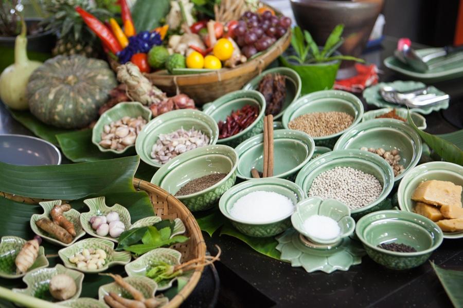 All kind of Thai ingredients