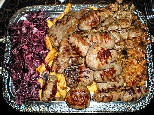 Bulgarian-style grill