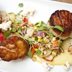 Scallops Lobster Corn Hash (4)