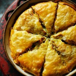 The Best Chicken Pie in Greece