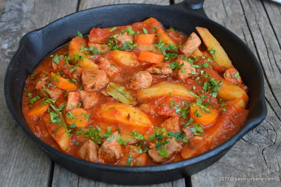 Tocăniță ardelenească de cartofi
