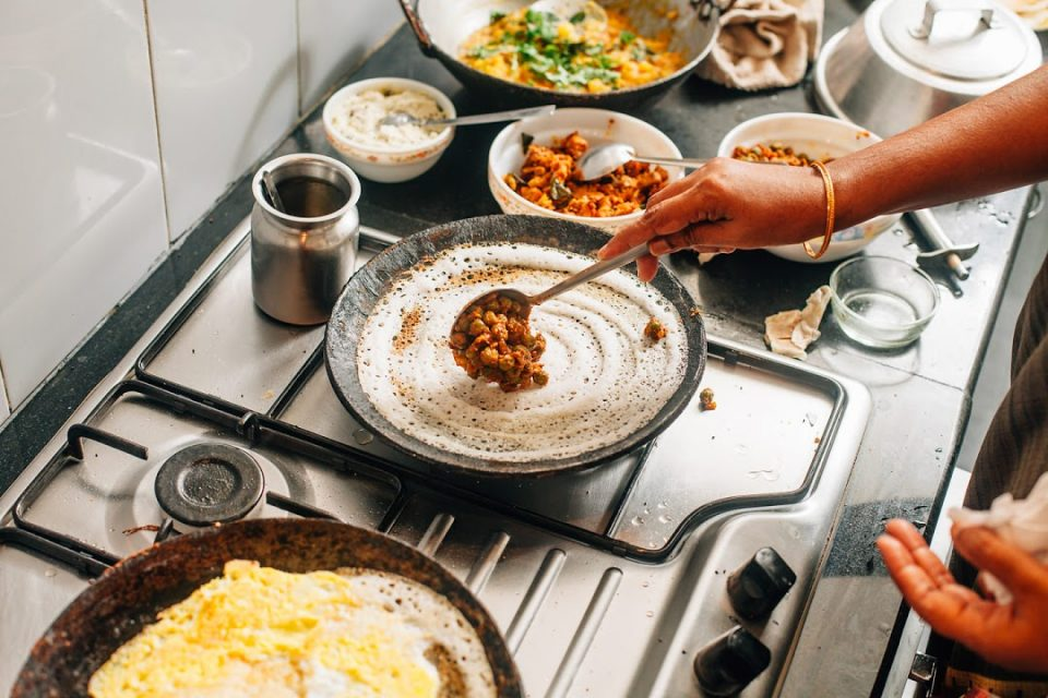 Cooking Indian Food