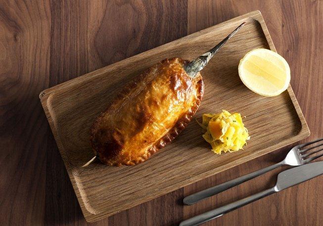 Trocadero fish pie - Broadsheet by Peter Tarasiuk
