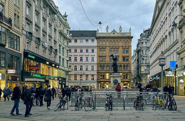 Vienna, Old Town;