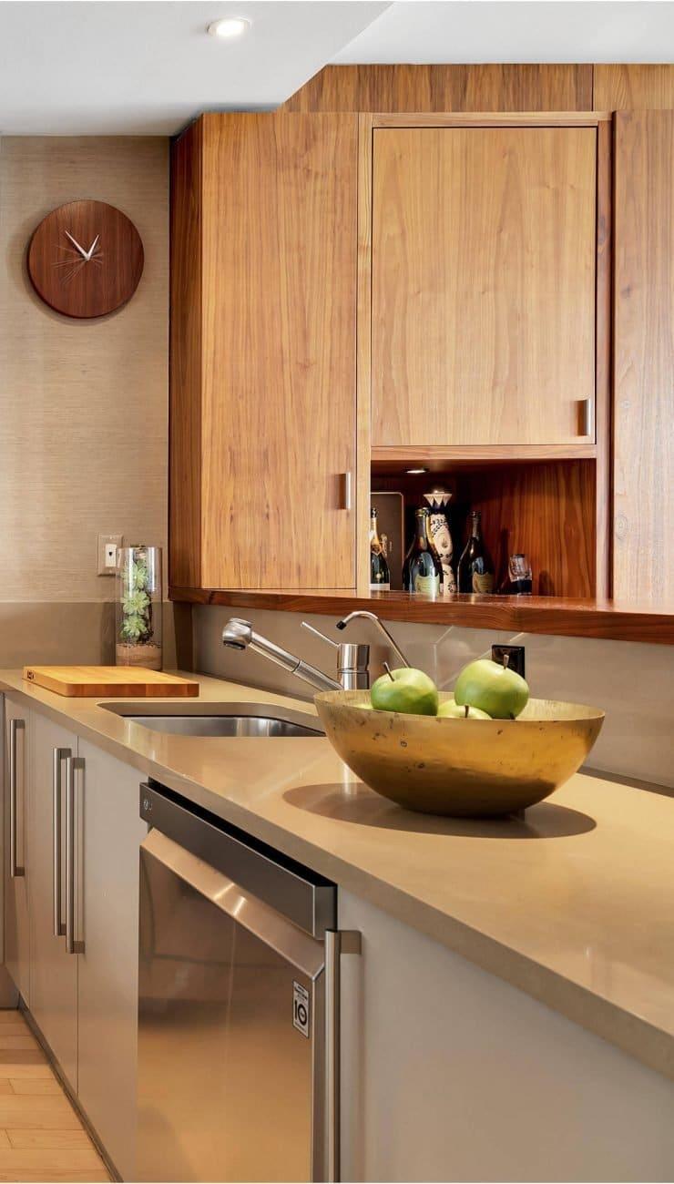 Tribeca Apartment Galley Kitchen Design Done Right Chef S