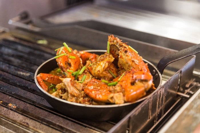 Chili Crab by Chef Priyantha