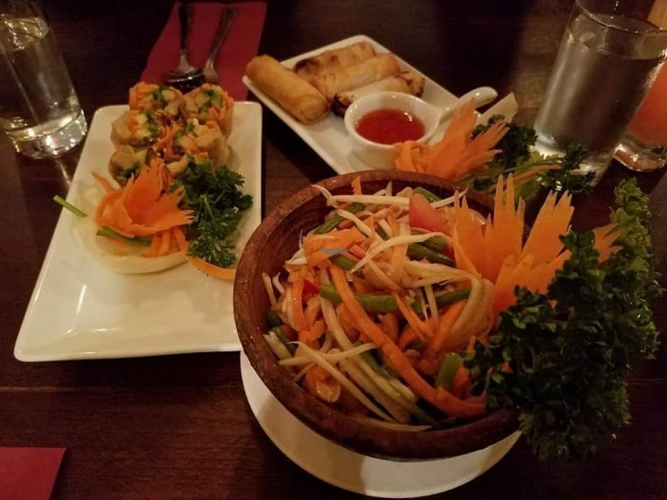Dish at Sabai Thai Restaurant