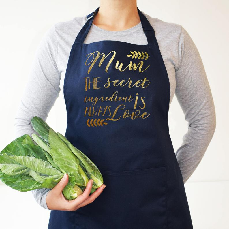 Mum, The Secret Ingredient is Always Love Apron