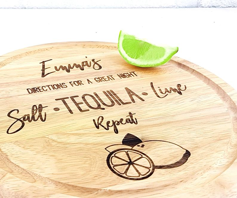 Personalized Chopping Board for the Tequila lover