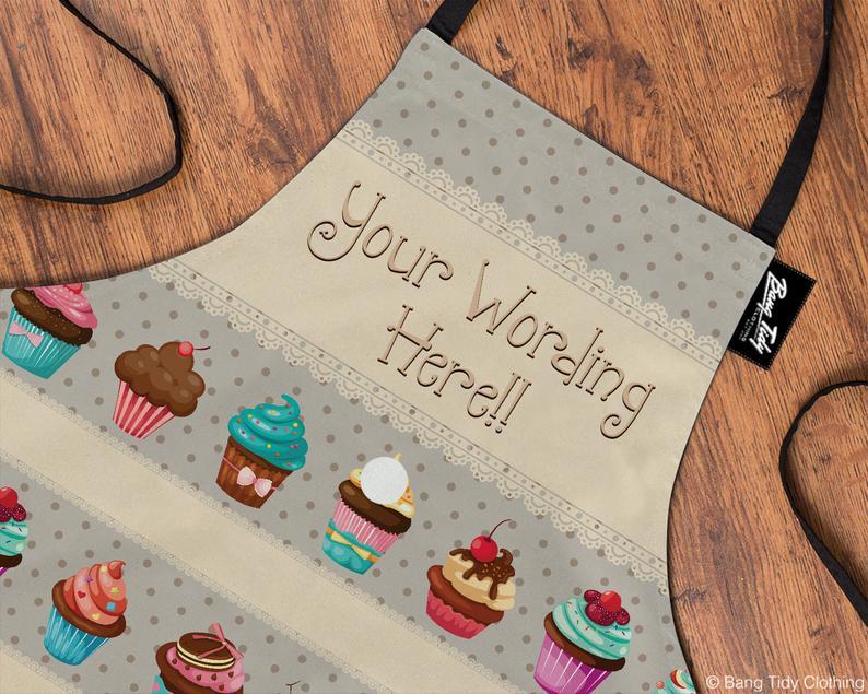 Personalised Cupcake Apron