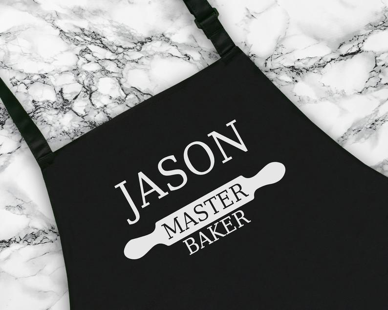 Personalised Master Baker Apron