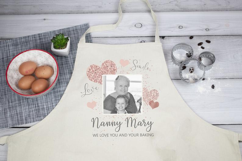 Personalised Nanny Apron