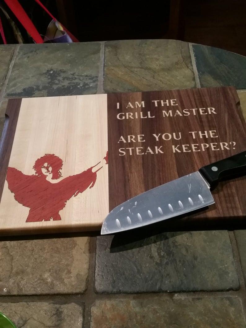 Grillmaster Steak Keeper Cutting Board