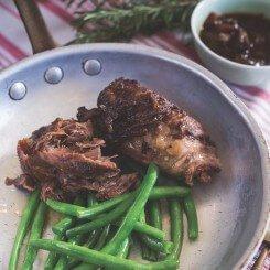 Agnello Brasato Con Sapori Mediterranei  (Braised Lamb with Mediterranean Flavours)