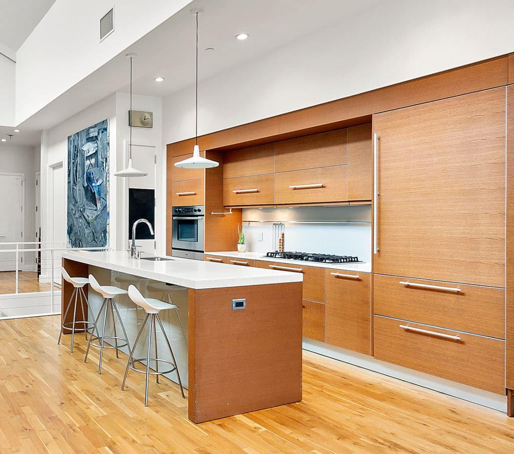 One Brooklyn Bridge Park kitchen