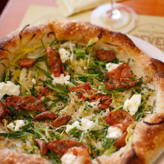 Pizza at Pizzeria Mozza