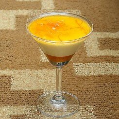 Orange Yoghurt Mousse