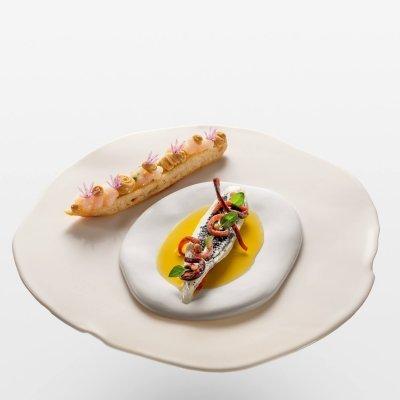 Scallop Tartare & Scallop Butter