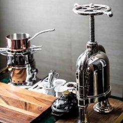 Silver Plated Duck Press; Restaurant À L'aise